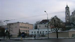 4 pav. Vilniaus šv. Jokūbo ligoninė (Vasario 16-osios g. 1).